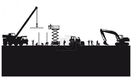 Building construction and civil engineering