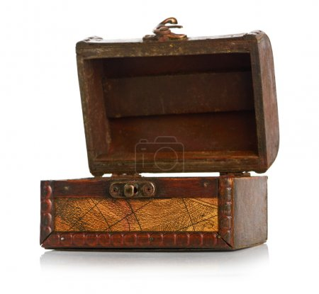 Photo for Open wooden chest - Royalty Free Image