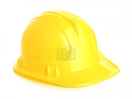 Photo for Isolated yellow helmet - Royalty Free Image