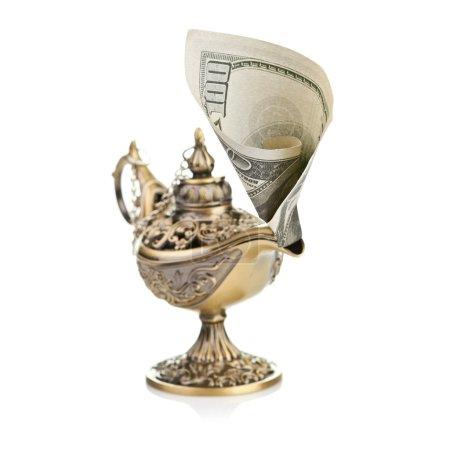 Photo pour Esprit de l'argent - image libre de droit