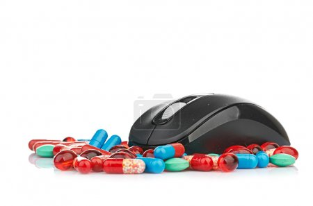 Mouse and pills