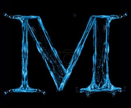 Buchstabe m des Alphabets