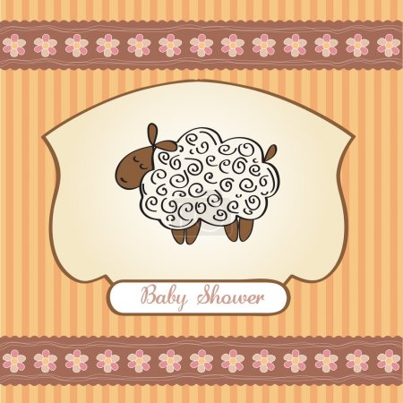 Welcome baby card...