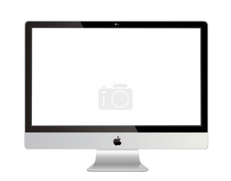 Photo pour Apple imac illustration de la réalité - image libre de droit