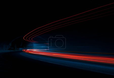 Photo pour Lumières intéressantes et abstraites qui peuvent être utilisées comme fond ou texture - image libre de droit