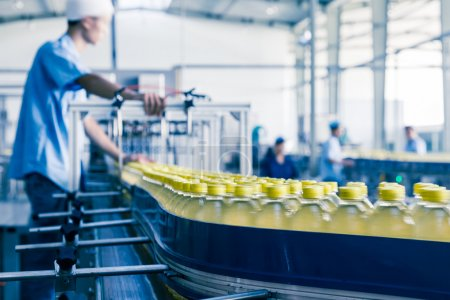 usine de production de boissons en Chine