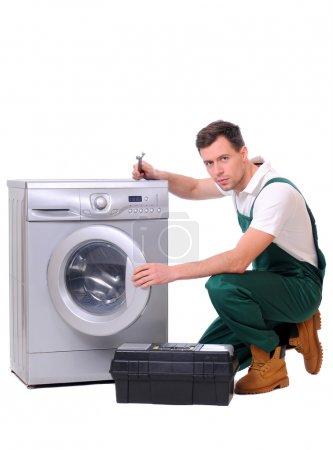 Repairing washing machine