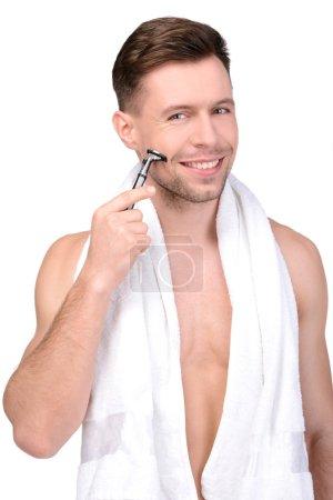 Man Washing
