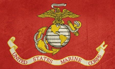 Grunge United States Marine Corps
