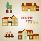 Soubor tří domů