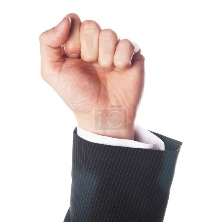 Hand showing fist