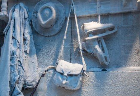 Icy still-life