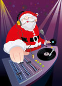 DJ Santa Claus Christmas party
