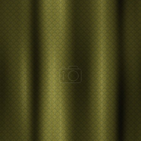 Pattern golden curtains - seamless texture perfect for 3D modeling and rendering