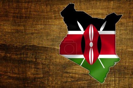 Kenya Map Design