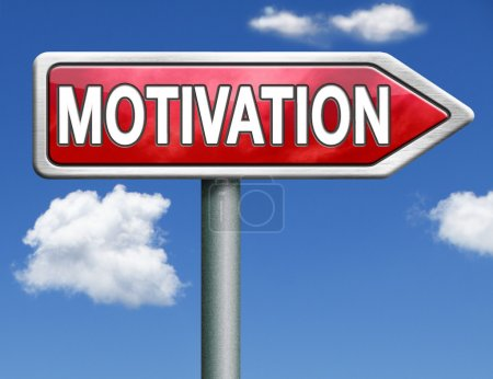 motivation road sign arrow