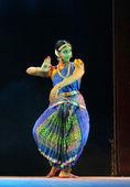 Vondrová Lucie provádějícího bharatanatyam tanec
