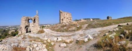Kalamita (Inkerman) fortress in Crimea, Ukraine
