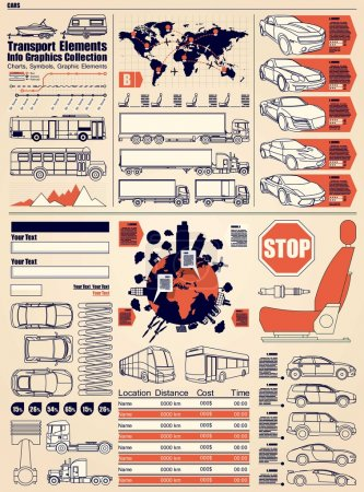 Car info graphics