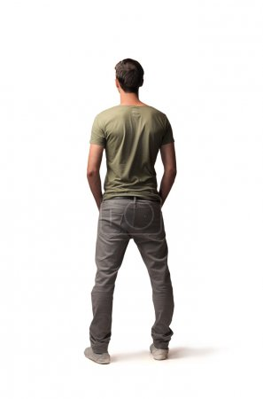 Photo for Man wearing casual cloths - Royalty Free Image