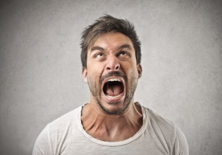 Photo for Angry screaming man - Royalty Free Image