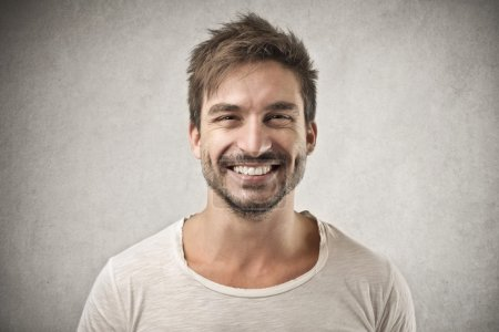 Photo for Smiling handsome man - Royalty Free Image