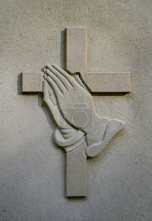 Crucifix And Jesus' Hands