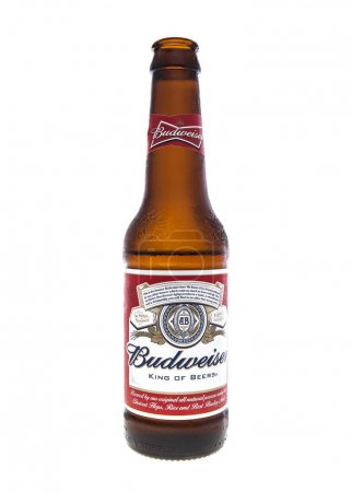 SWINDON, UK - FEBRUARY 16, 2014: Open Bottle of Bu...