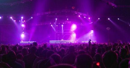 Photo pour Concert de la grande scène - image libre de droit