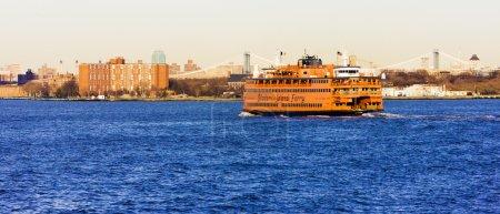ferry for Staten Island, New York, USA