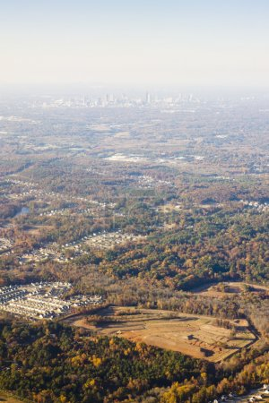 view from above, Atlanta, Georgia, USA