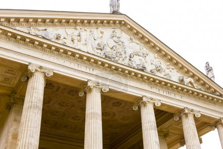 Temple of Concord and Victory, Stowe, Buckinghamshire, England