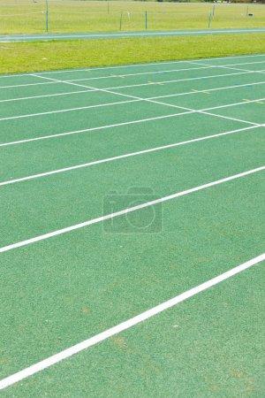 Photo pour Piste d'athlétisme - image libre de droit