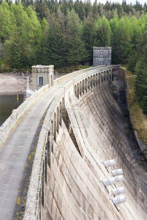 Loch Laggan dam, Highlands, Scotland