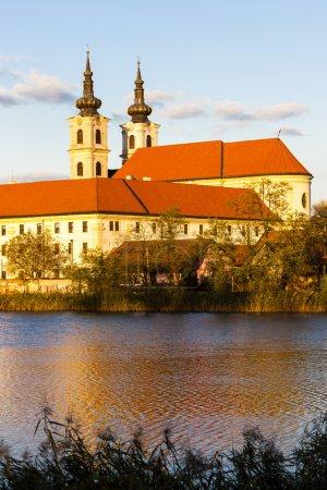 Photo pour Basilique Notre-Dame-et-Monastère, Sastin-Straze, Slovaquie - image libre de droit