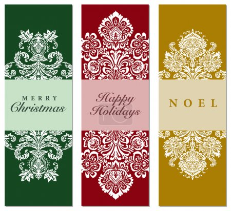 Vector Holiday Tall Frame Set
