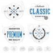 Easy to edit! Clipart vintage logo and label templ...