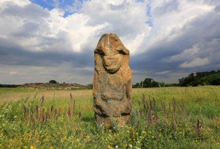 stine idol in steppe