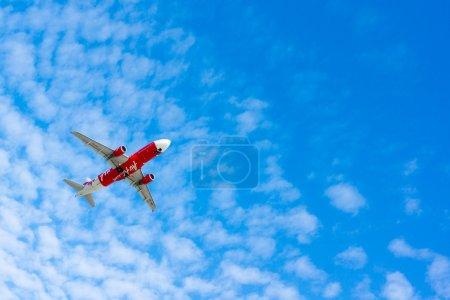 AirAsia plane takes off