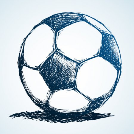 Sketch Soccer Ball
