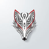 Tribal Fox Head