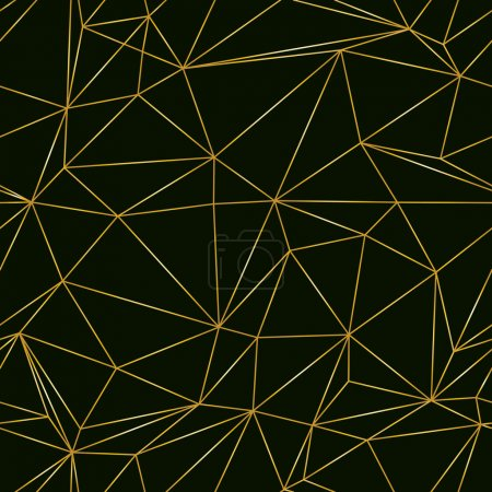 Illustration for Abstract seamless pattern. triangle structure. vector illustration eps 10 - Royalty Free Image
