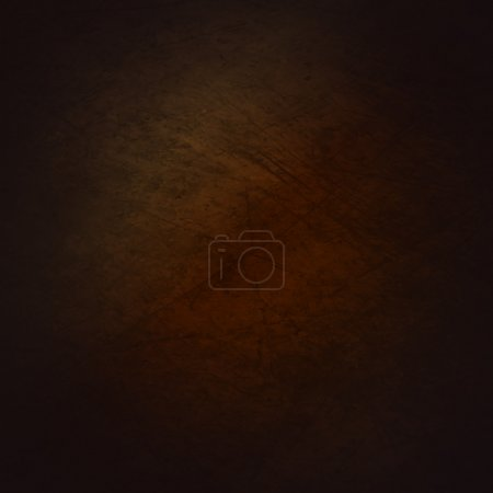 Illustration for A grunge textured background with a gradient of brown. - Royalty Free Image