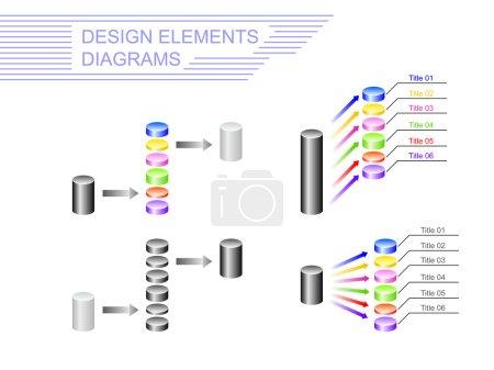Design elements. Diagrams