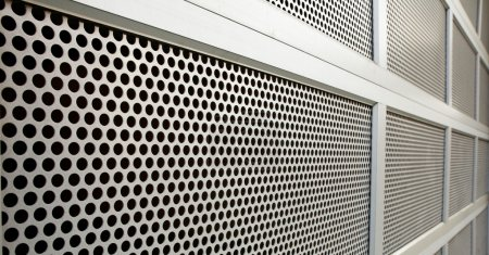 Perforated Security door