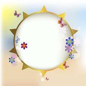 Summer solar frame