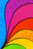 Abstract colorful background for design Vector illustration