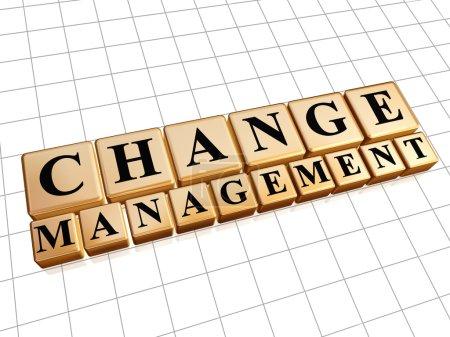 Change management in golden cubes