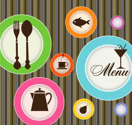 Photo for Menu for restaurant, cafe, bar, coffeehouse - Royalty Free Image