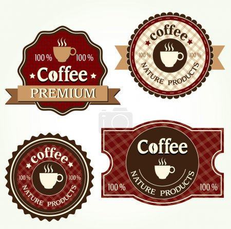 Photo for Coffee labels - Royalty Free Image